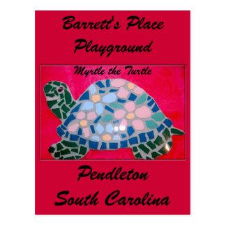 Myrtle the Turtle, SC Postcard