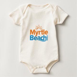 MyrtleBeach.com Logo Baby Bodysuit