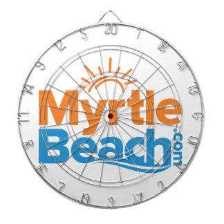 MyrtleBeach.com Logo Dartboard