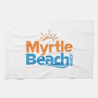 MyrtleBeach.com Logo Kitchen Towel