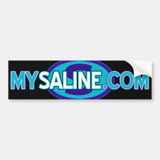 mysaline blues2 bumper sticker