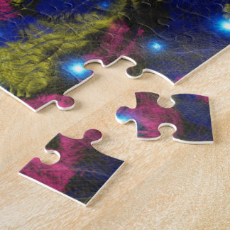 Mysic Galaxy Abstract Jugsaw Puzzle