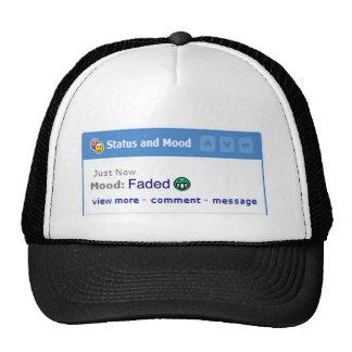 Myspace mood FADED funny online parody Trucker Hat