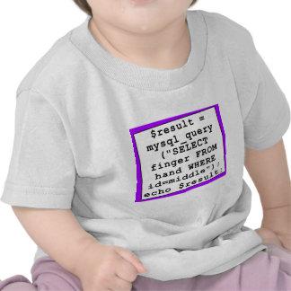mySql Joke - Funny Computer Programmer - Purple Shirt