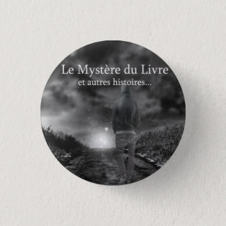 Mystère of the Book swipes in 1 Inch Round Button