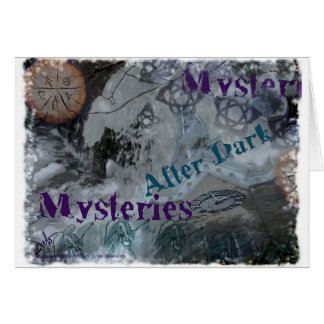 Mysteries After Dark Card