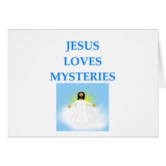 MYSTERIES CARD