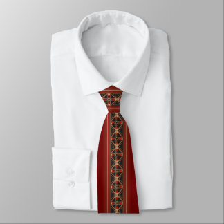 Mysteries of the Stars (Red) Tie
