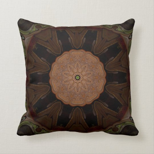 Mysterious Beauty. Throw Pillow