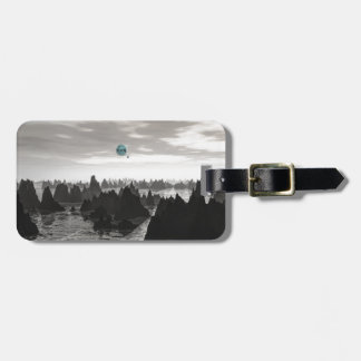 Mysterious Blue Orbs Luggage Tag