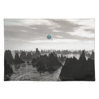 Mysterious Blue Orbs Placemat