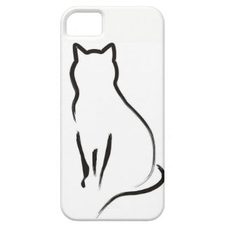 Mysterious Cat iPhone 5 Cover