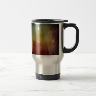 Mysterious Cathedral Travel Mug