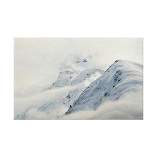 Mysterious Chugach Peaks Canvas Print