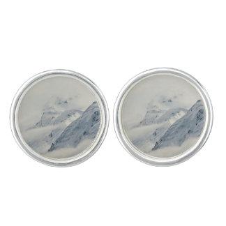 Mysterious Chugach Peaks Cufflinks