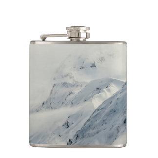 Mysterious Chugach Peaks Hip Flask