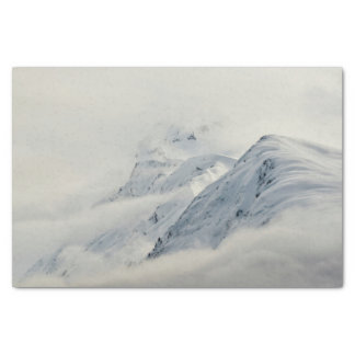 Mysterious Chugach Peaks Tissue Paper