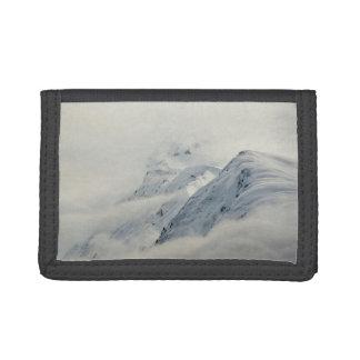 Mysterious Chugach Peaks Tri-fold Wallets