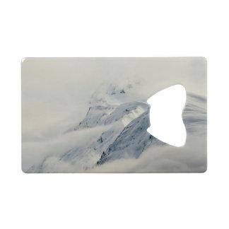Mysterious Chugach Peaks Wallet Bottle Opener
