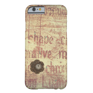 Mysterious Clock Barely There iPhone 6 Case