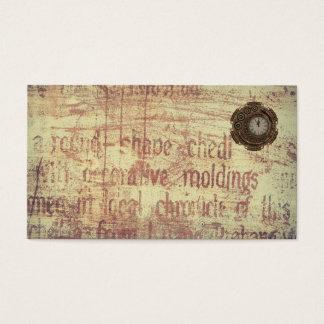 Mysterious Clock Business Card