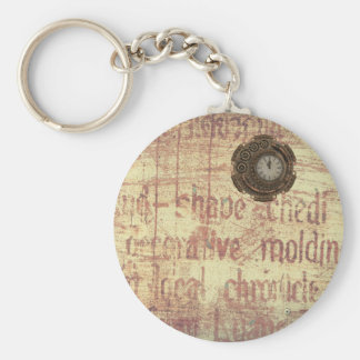 Mysterious Clock Keychain