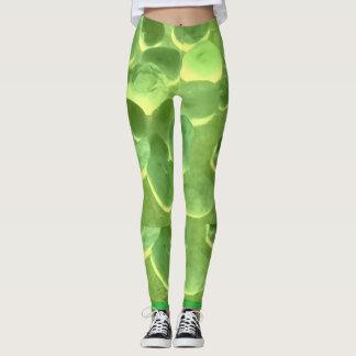Mysterious Green Stone Leggings