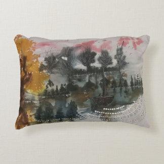 Mysterious landscape decorative pillow