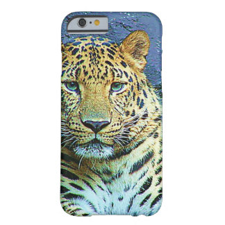 Mysterious Leopard Closeup Design Barely There iPhone 6 Case