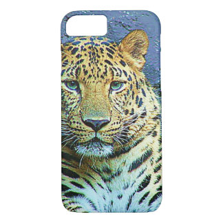 Mysterious Leopard Closeup Design iPhone 7 Case