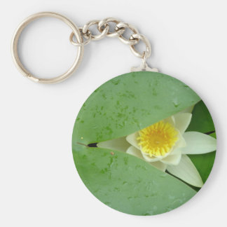 Mysterious lily keychain
