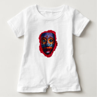 Mysterious mask - Mystery Mask Baby Romper