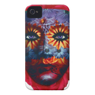 Mysterious mask - Mystery Mask iPhone 4 Covers