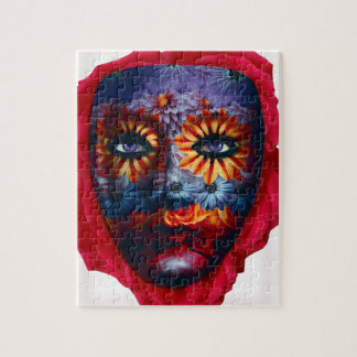 Mysterious mask - Mystery Mask Jigsaw Puzzle