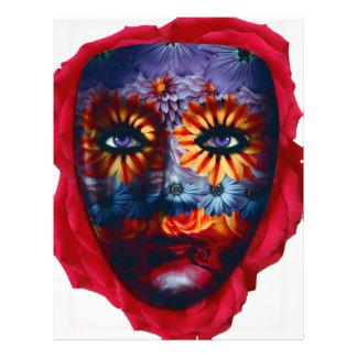 Mysterious mask - Mystery Mask Letterhead Design