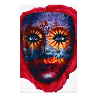 Mysterious mask - Mystery Mask Stationery