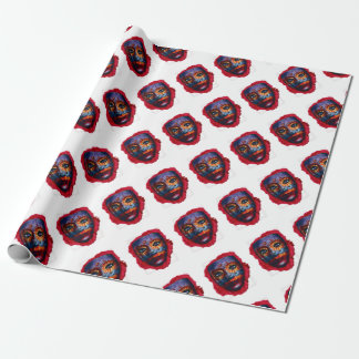 Mysterious mask - Mystery Mask Wrapping Paper