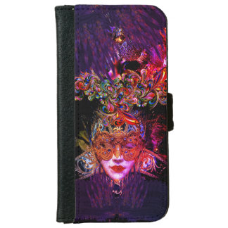 Mysterious Masquerade Ball Beauty iphone wallet