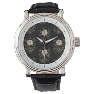 Mysterious Medieval Flower Pattern Watch