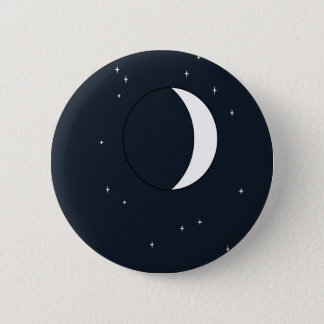 Mysterious Moon 2 Inch Round Button