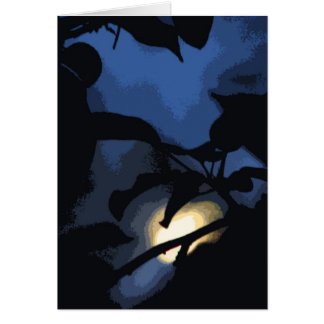 Mysterious Moon Card