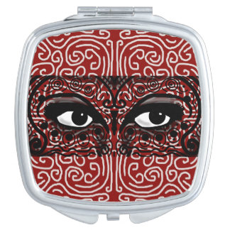 MYSTERIOUS ROMANTIC EXOTIC EYES by Slipperywindow Makeup Mirror
