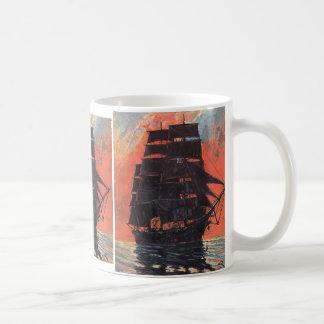 Mysterious Ship Coffee Mug