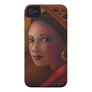 Mysterious Woman iPhone 4 Case-Mate Case