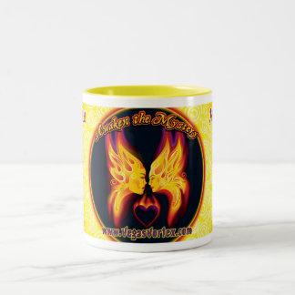 Mysterium Mug, 15oz Two-Tone Coffee Mug