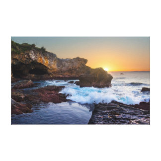 Mystery Bay Sunrise Canvas Print