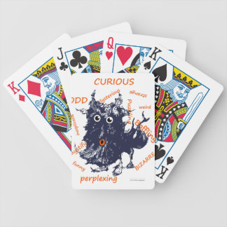 mystery bicycle playing cards