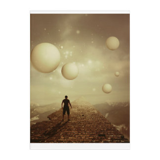 """Mystery Bubbles Acrylic Wall Art, 10"""" x 14"""" Acrylic Wall Art"""