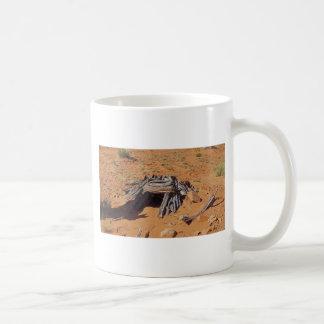 Mystery desert cave in utah classic white coffee mug