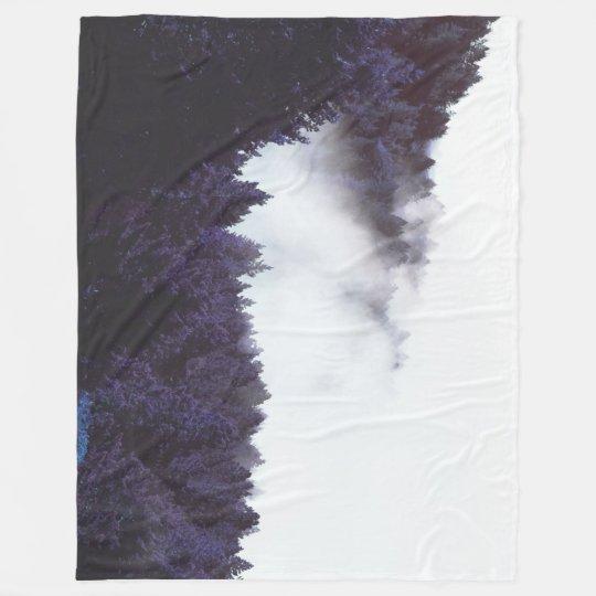 Mystery Fog Fleece Blanket